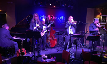 Image of the Half Dozen at Ronnie Scotts